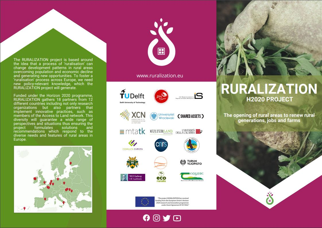 Imagen RURALIZATION brochure