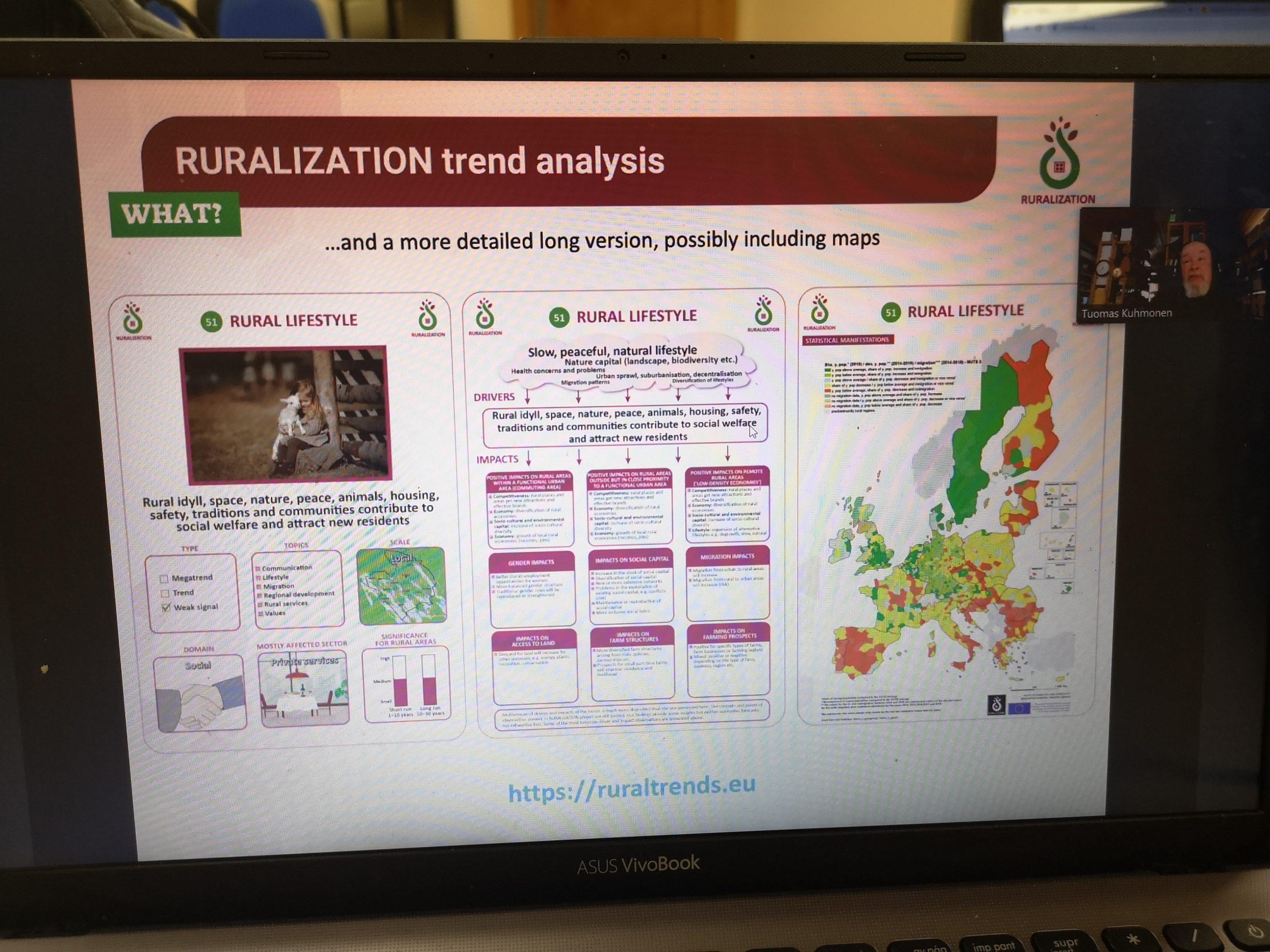 Image RURALIZATION trend analysis