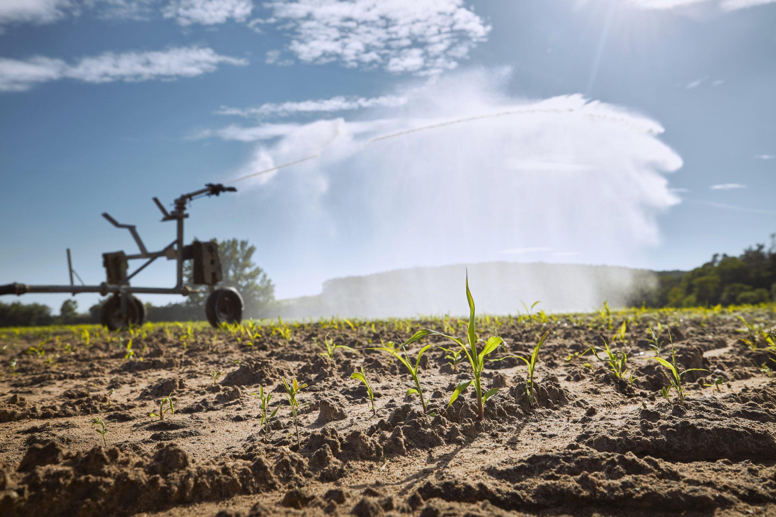 Agricultural irrigation machine